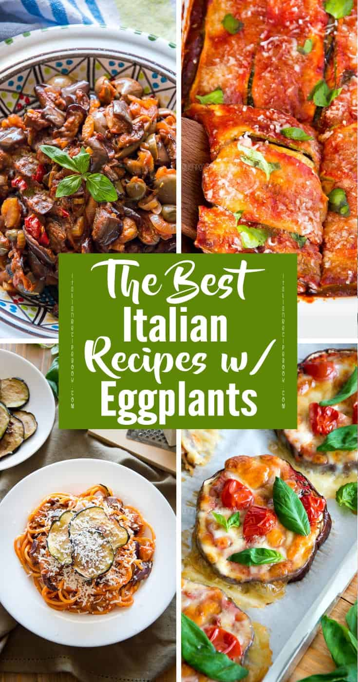 The Best Italian Recipes With Eggplant