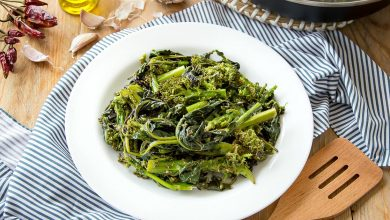 Photo of Sauteed Broccoli Rabe {Rapini}