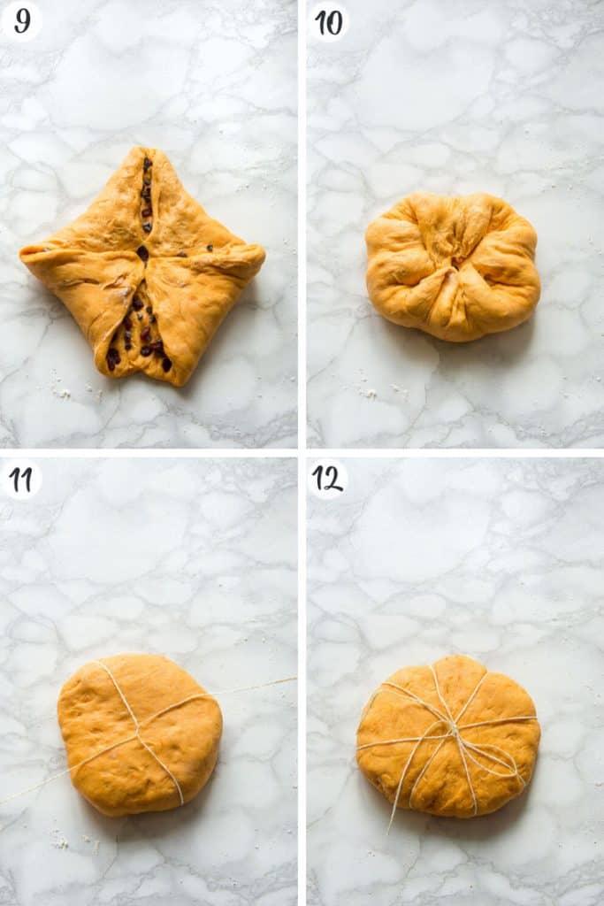 Pumpkin Chocolate Chip Bread - Steps 9-12
