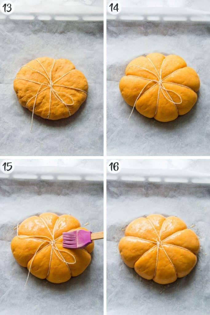 Pumpkin Chocolate Chip Bread - Steps 13-16