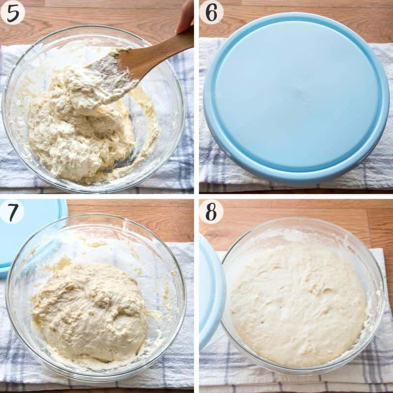 Pinsa Recipe Steps 5-8