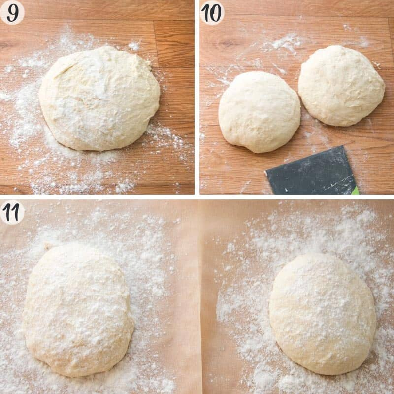 Pinsa Recipe Steps 9-11