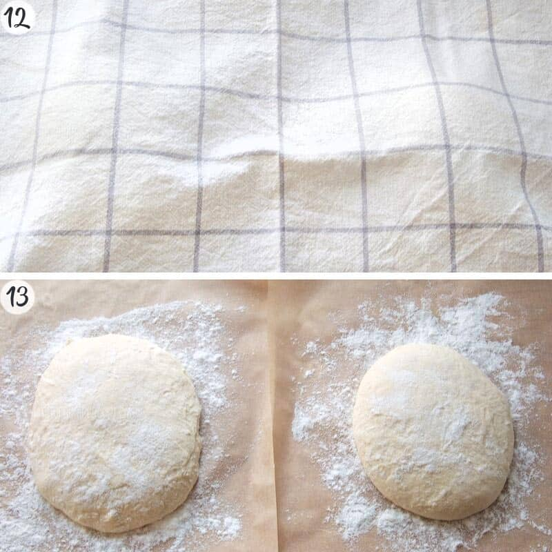Pinsa Recipe Steps 12-13