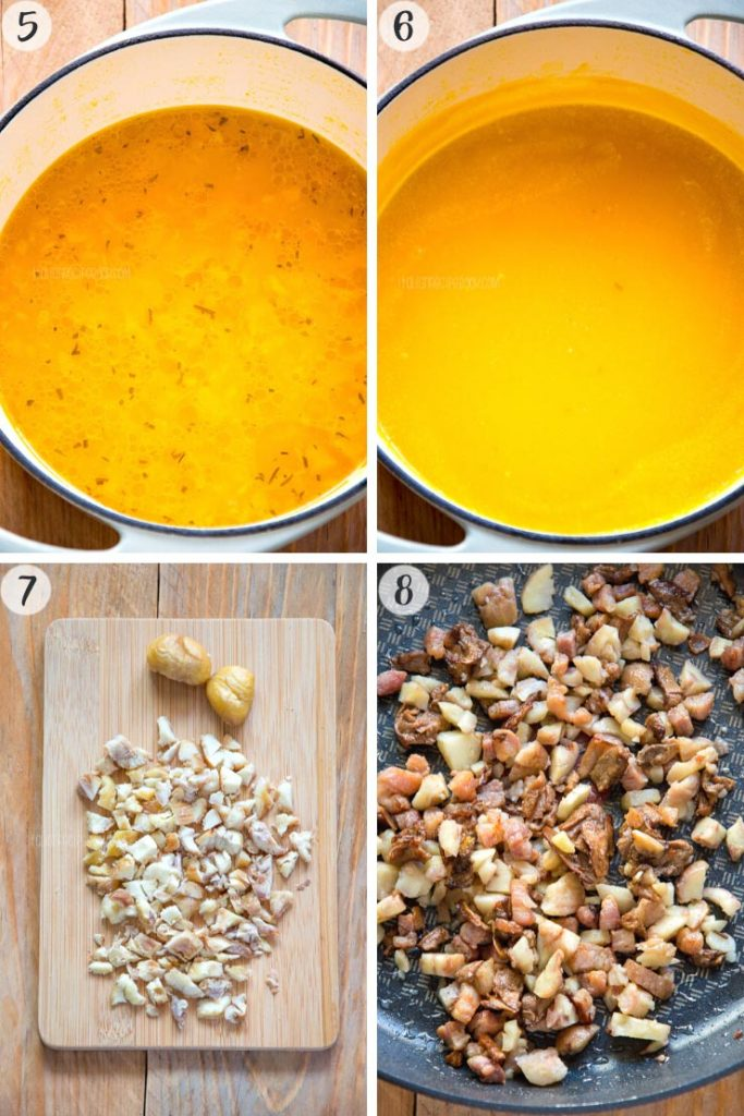 Creamy Pumpkin Soup - Step 5-8