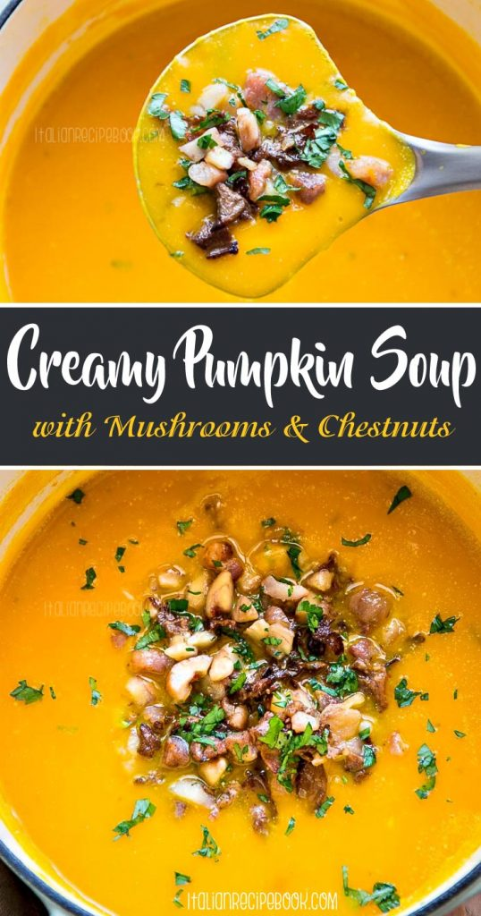 Creamy Pumpkin Soup Pin