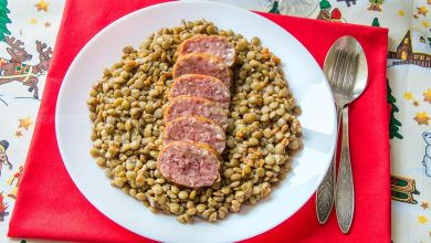 Photo of Cotechino With Lentils – Italian New Year's Tradition