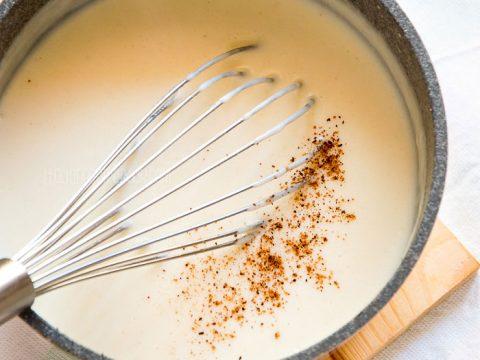 Bechamel Sauce Recipe {Besciamella}