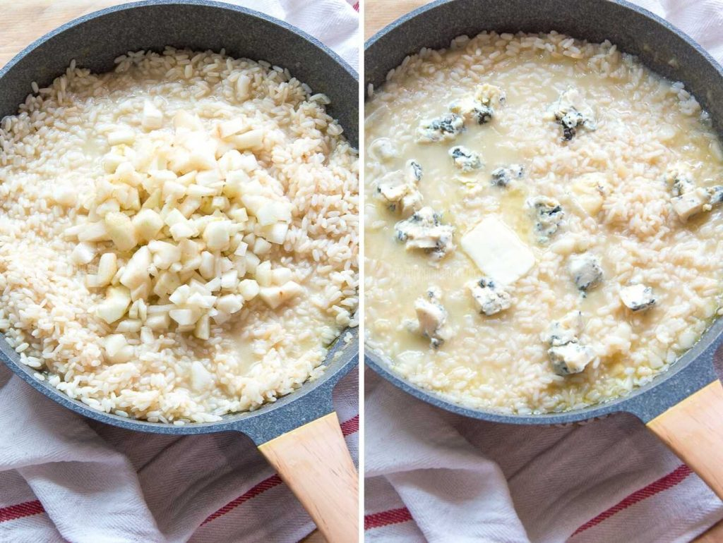 Creamy Pear Risotto Recipe
