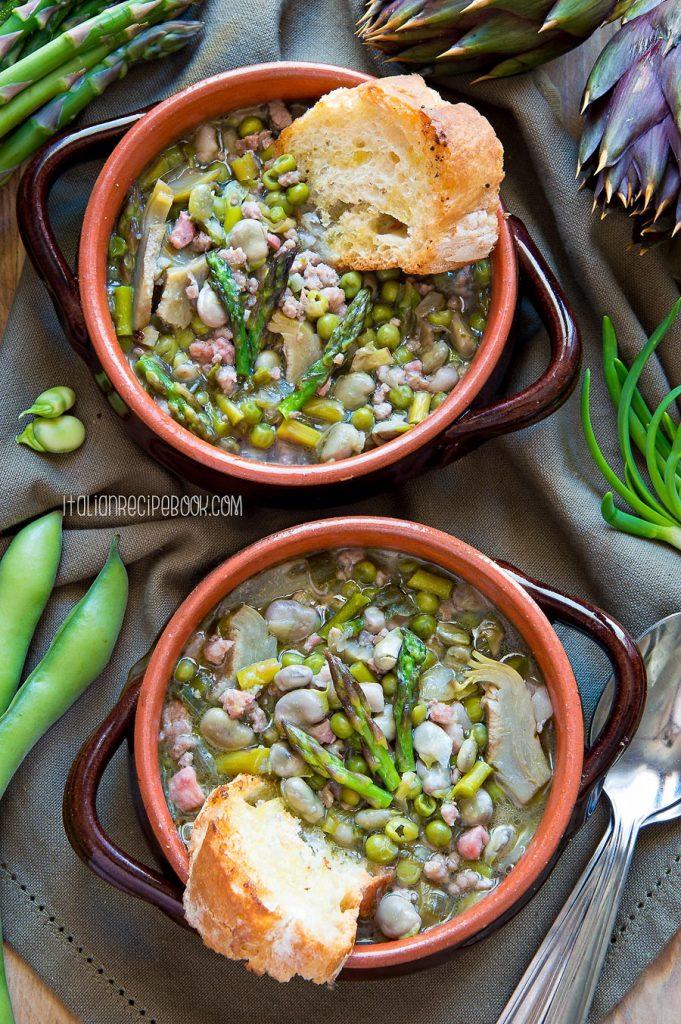 tuscan spring soup